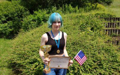 Carolin Raum ist Landessiegerin im THE BIG CHALLENGE!