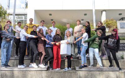 SchülerInnen des EAG machen Demokratie stark!
